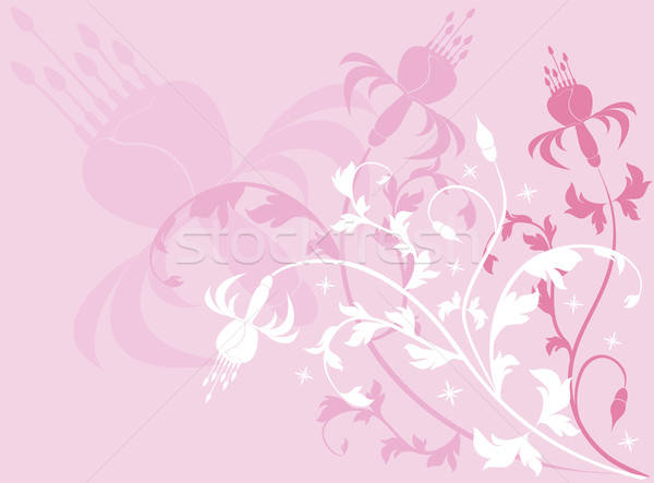 Background flower, vector Stock photo © -TAlex-