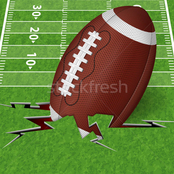 Touchdown Stock photo © -TAlex-