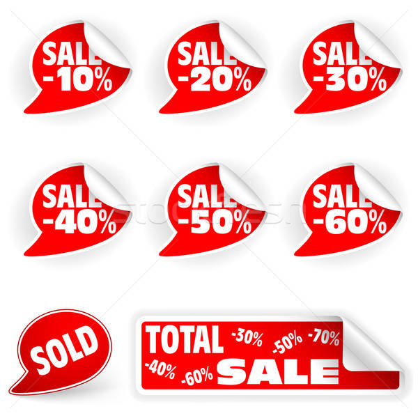 Collect Sticker Stock photo © -TAlex-