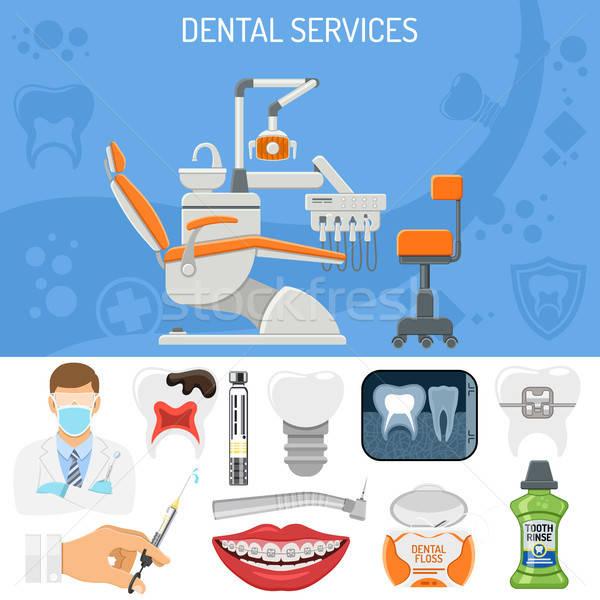 Dental Services Banner Stock photo © -TAlex-