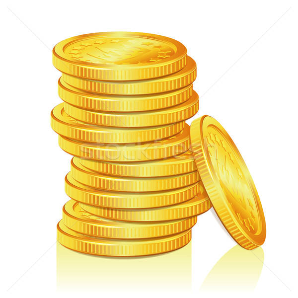 Stack of Gold Coins Stock photo © -TAlex-