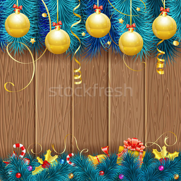 Christmas Frame Stock photo © -TAlex-