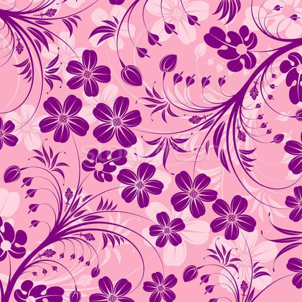 Abstract modello di fiore elemento design fiore texture Foto d'archivio © -TAlex-