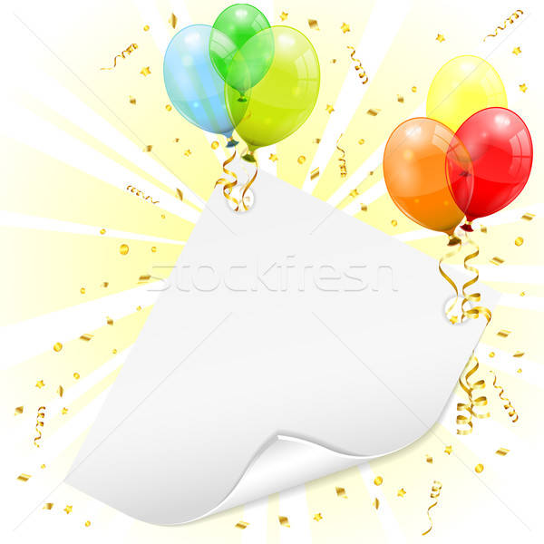 Birthday Frame Stock photo © -TAlex-