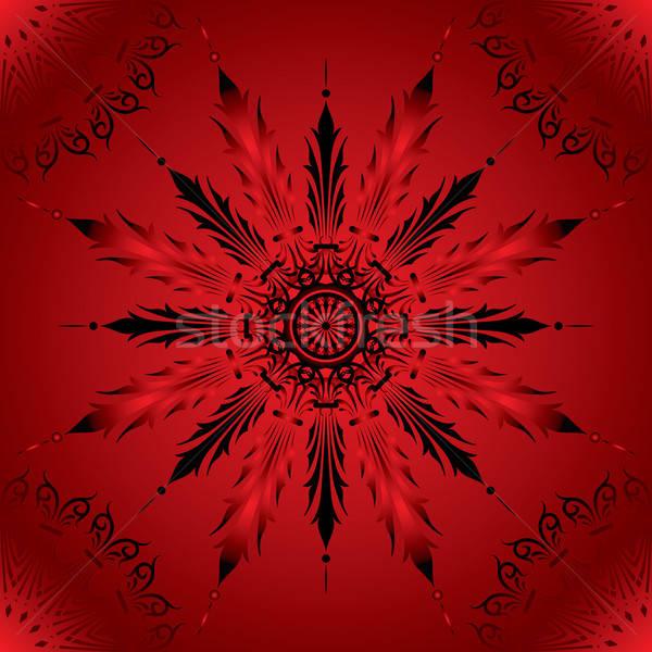 цветок Элементы дизайна вектора искусства лет Сток-фото © -TAlex-