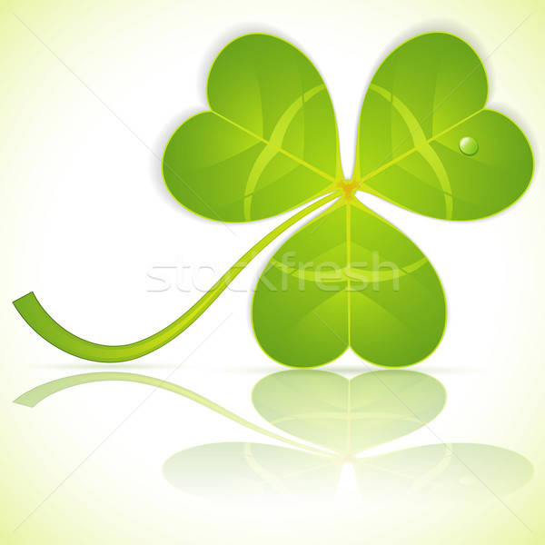 Leaf Clover on St. Patrick's Day Stock photo © -TAlex-