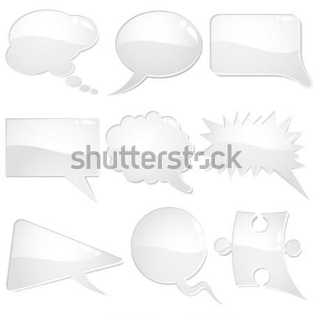 Speech Bubbles  Stock photo © -TAlex-