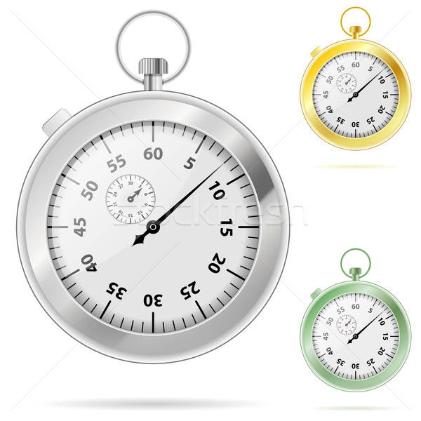 Timer couleurs affaires sport Photo stock © -TAlex-