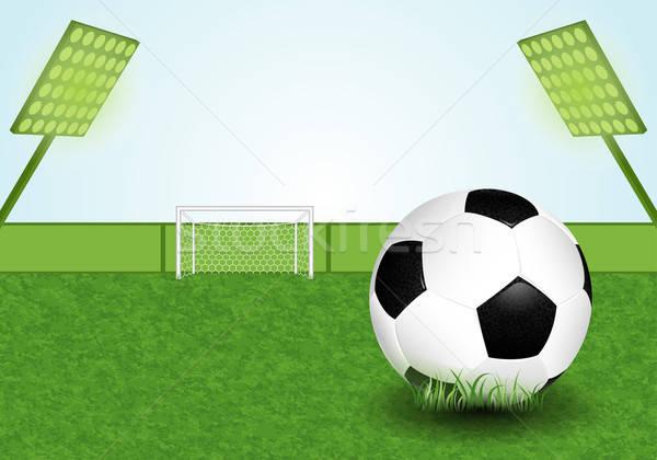 Soccer Stadium Stock photo © -TAlex-