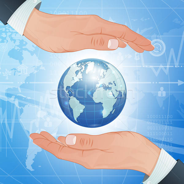 Global Business and Environment Protect Stock photo © -TAlex-