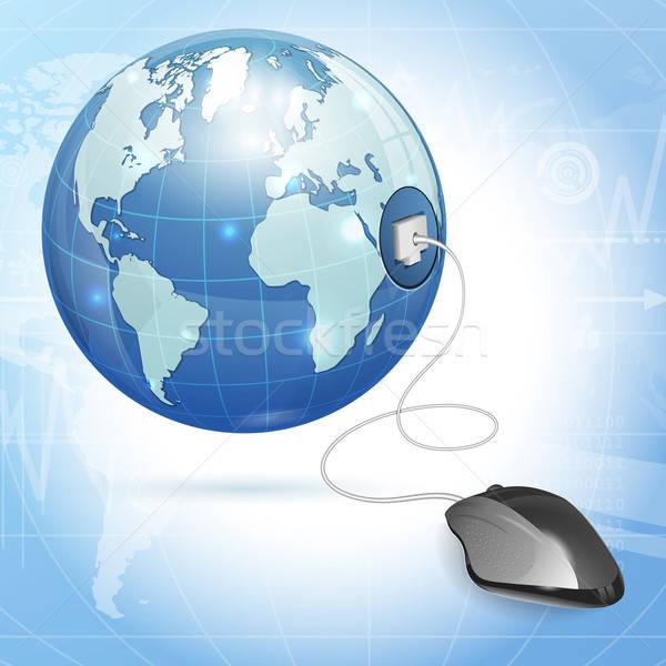 Global Computing Concept Stock photo © -TAlex-