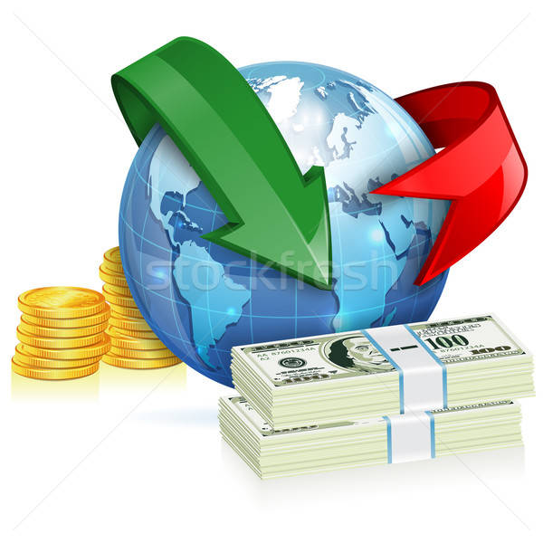 Global Money Transfer Concept Stock photo © -TAlex-