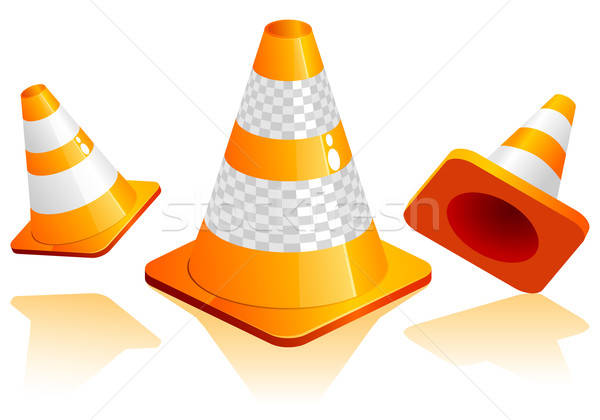 Traffic Cone Stock photo © -TAlex-
