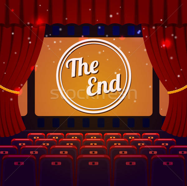 End Show Concept Stock photo © -TAlex-