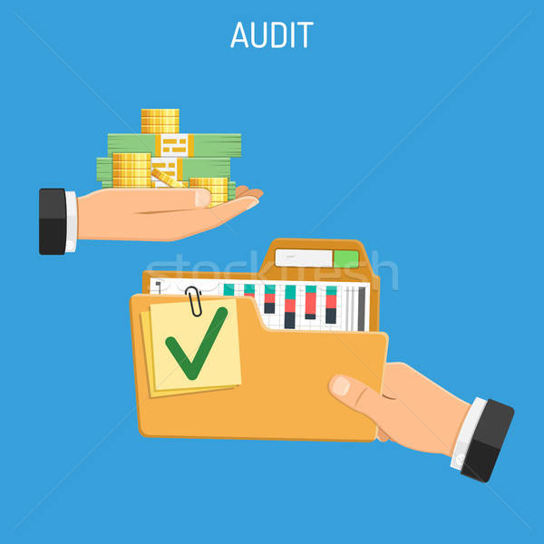 Auditing, Tax, Accounting Concept Stock photo © -TAlex-