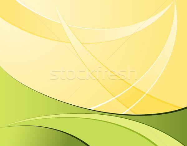 Modello onda elemento design abstract sfondo frame Foto d'archivio © -TAlex-