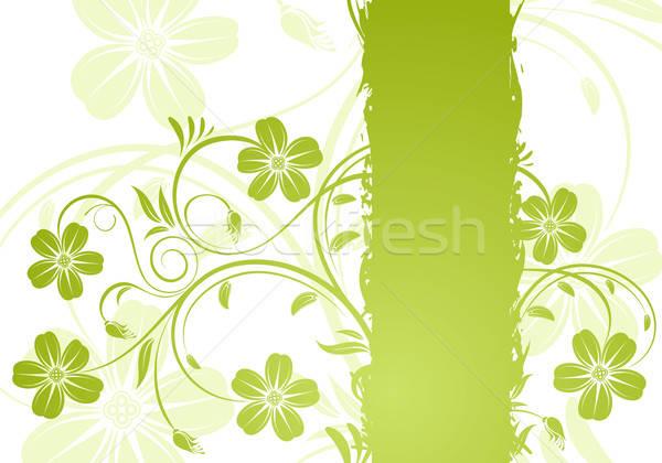 Floral frame Stock photo © -TAlex-