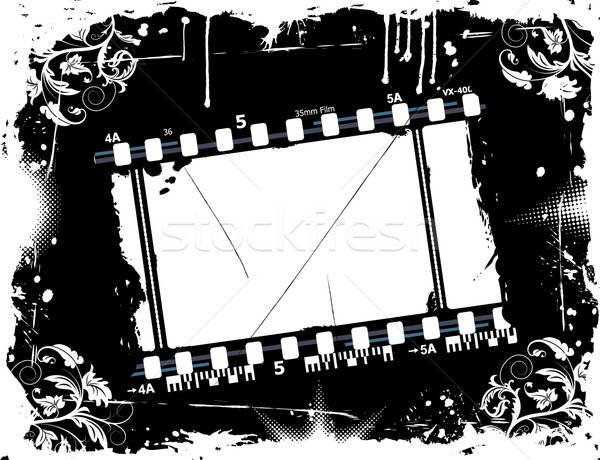Photographic film frame Stock photo © -TAlex-