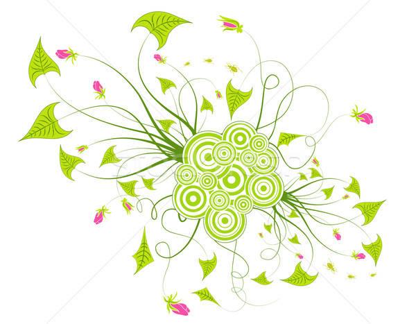 аннотация цветочный хаос ошибка элемент дизайна Сток-фото © -TAlex-