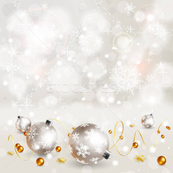 Christmas sneeuwvlokken snuisterij element ontwerp abstract Stockfoto © -TAlex-