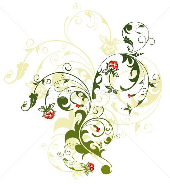 аннотация цветочный хаос элемент дизайна природы Сток-фото © -TAlex-