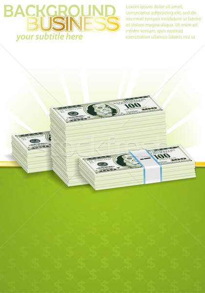 Business Poster Stock photo © -TAlex-
