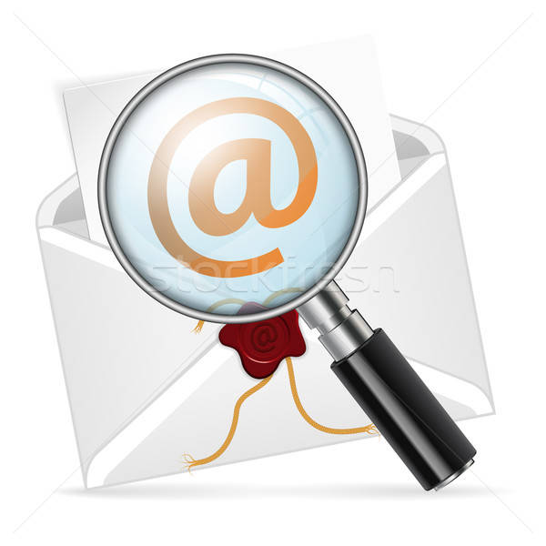 Concept - search e-mail Stock photo © -TAlex-