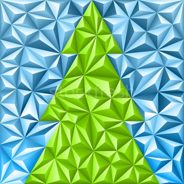 Christmas Mosaic Pattern Stock photo © -TAlex-