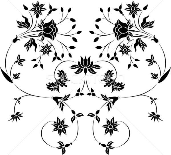 Element for design, flower illustration Stock photo © -TAlex-