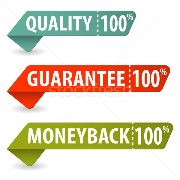 Collect Quality Signs Stock photo © -TAlex-