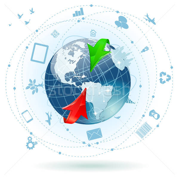 Concept - Global Business Stock photo © -TAlex-