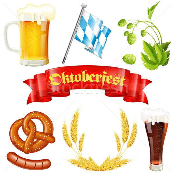Oktoberfest Icon Stock photo © -TAlex-