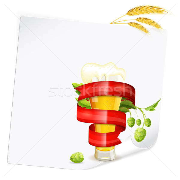 Beer Poster Stock photo © -TAlex-