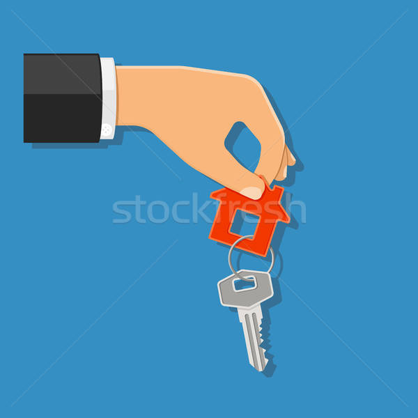 purchase or rental real estate concept Stock photo © -TAlex-