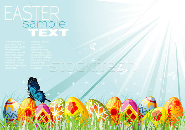Easter Background Stock photo © -TAlex-