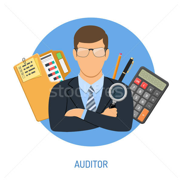 Auditor and Accounting Concept Stock photo © -TAlex-