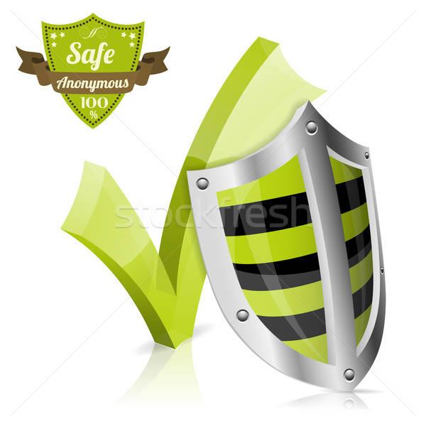 безопасной анонимный щит проверить качество Сток-фото © -TAlex-