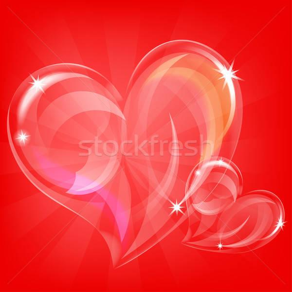 Valentines Day Card Stock photo © -TAlex-