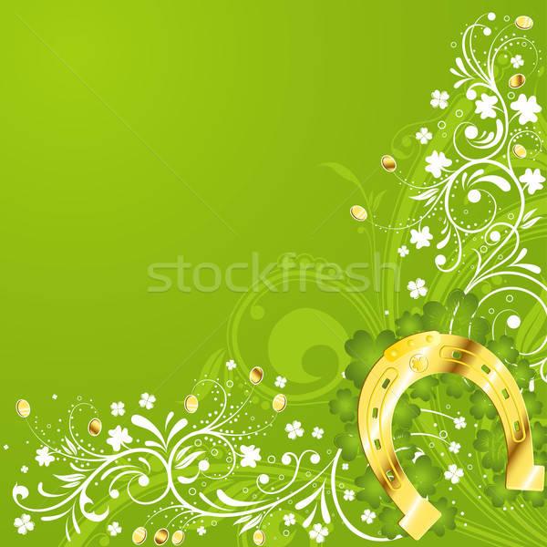 St. Patrick Day frame Stock photo © -TAlex-