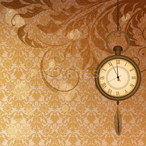 Soyut duvar kağıdı bronz Stok fotoğraf © 0mela