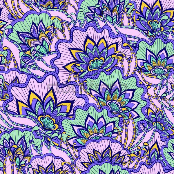 Bahar model mor çiçekler doku doğa Stok fotoğraf © 0mela