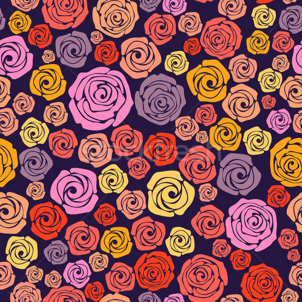 Rose seamless pattern Stock photo © 0mela