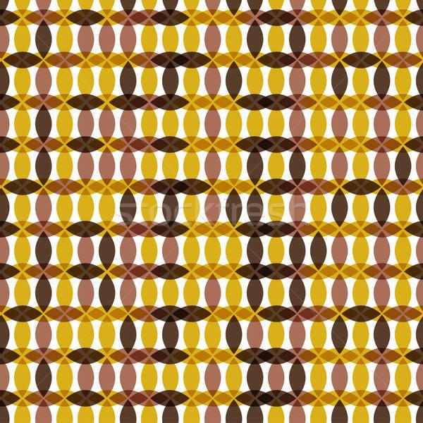 Retro senza soluzione di continuità disegno geometrico moda abstract frame Foto d'archivio © 0mela