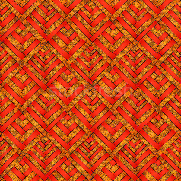 Naadloos vector textuur mode achtergrond kunst Stockfoto © 0mela