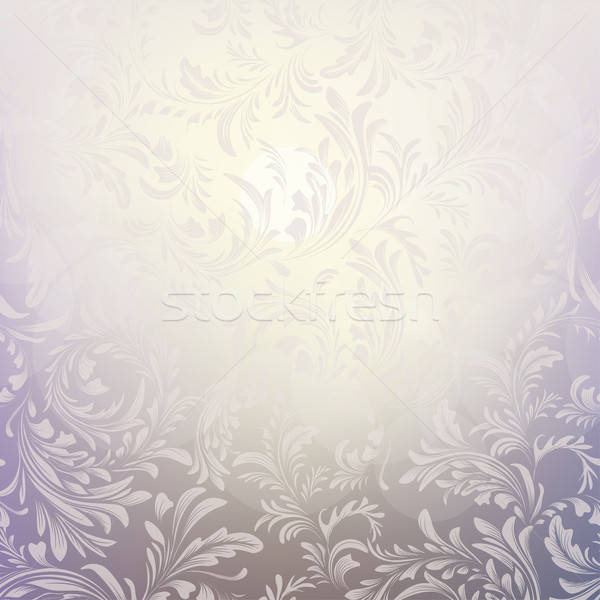 Abstract Christmas background with frosty pattern Stock photo © 0mela