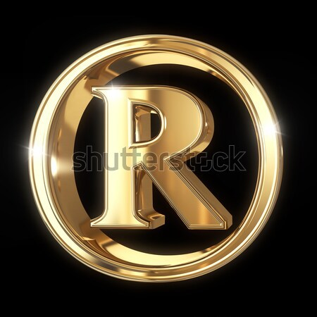 Trademark symbol with clipping path Stock photo © 123dartist