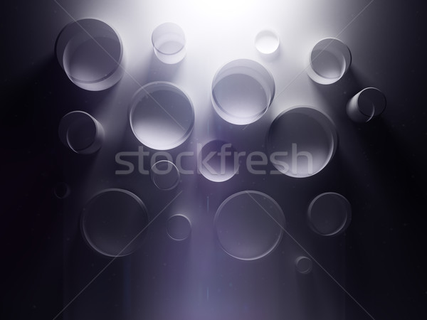 Résumé sombre pourpre wallpaper dramatique lumière Photo stock © 123dartist