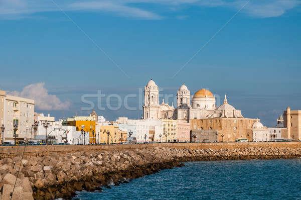 собора Испания живописный мнение красивой небе Сток-фото © 1Tomm