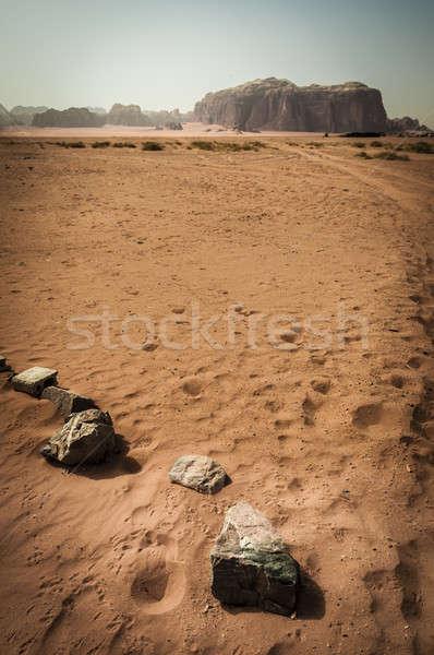 ром пустыне Иордания хорошо Сток-фото © 1Tomm