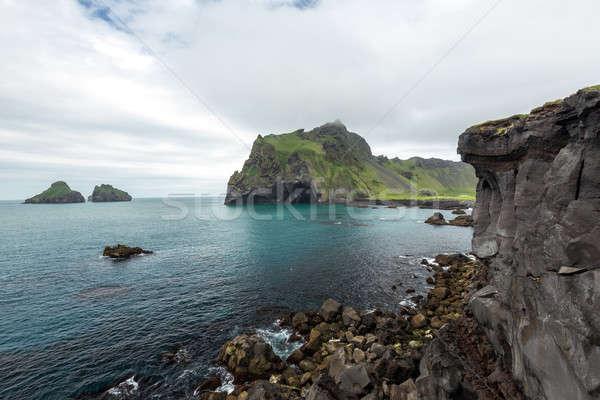 Kust strand hemel natuur landschap zee Stockfoto © 1Tomm